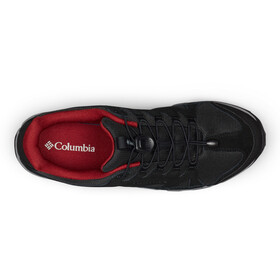 Columbia Five Forks WP Chaussures Homme, black/red jasper